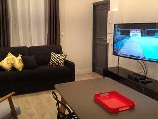 New Appart Cozy 40m² proche LILLE centre Metro pour 4-6 Voyageurs