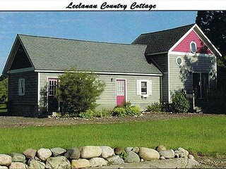 "LEELANAU COUNTRY COTTAGE is ""Home Away From Home"""