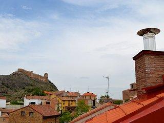 El Mirador de Clavijo, apartamento 2 / 3 plazas, con terraza vistas al castillo
