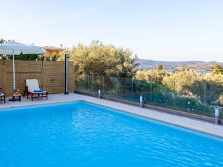 Villa with private pool and close to the beach, Lygia