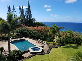 Kauai North Shore Estate-Big Ocean Views Pool/Spa, Kilauea