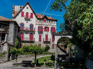 Castello Belvedere Centonara, appartamento grigio