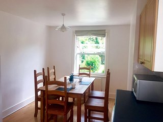 Double refurbished room in a Victorian house, London