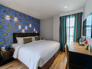 Deluxe Room at Aspira D'Andora S16, Bangkok