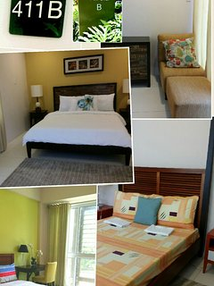 411 CAROLA B 3BEDROOM unit with 3 toilet and bath 140sqms. $330/night RATE exludes guestfee