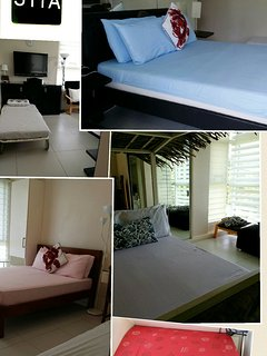 511 MIRANDA A 3BEDROOM unit with 3 toilet and bath 140sqms. $330/night RATE exludes guest fee