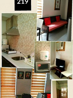 studio unit 1full size bed and 1double deck $110/night RATE excludes guest fee