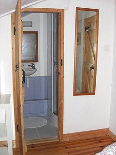 Ensuite shower facilities of second bedroom.