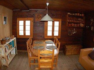 Coin à manger - Chalet Nid d'Aigle, un mayen authentique en Valais