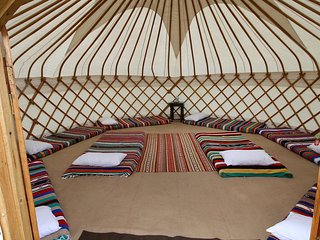 Edinburgh Accommodation Yurt Sleeps 8, Newbridge