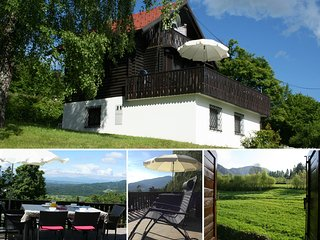 Traditional Alpine chalet with stunning views, Stahovica