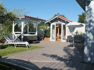 loft avec spa et sauna privatif, Mios