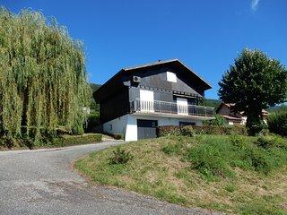 chalet , belle vue  calme, lac du bourget en 10min, Ruffieux