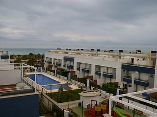 House 130m2 with swimming-pool and by the see, Playa de Almarda