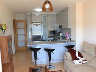 Moderno apartamento con terraza en 1 línea mar, Corcubión