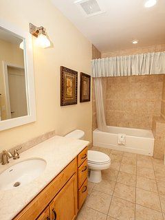 Bathroom w tub and shower