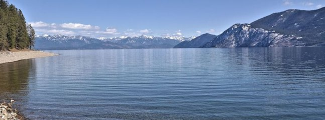 Easy access to Lake Pend Oreille