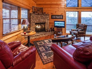 Pet Friendly Georgia Mountain Cabin, Ellijay
