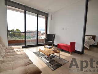 ELA - 1 Bed Executive Apartment with jacuzzi and gym - Rincon del Chico, Bogota