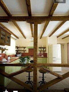 Stylish kitchen with smeg electric appliances