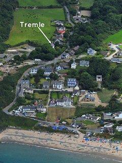Tresaith luxury holiday home near the beach