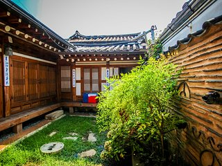 Korean traditional house Hanok in Bukchon (북촌한옥마을), Seoul