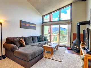 SILVER QUEEN: 2 bed/2 bath+Sleeping Loft, Clean, Deck and Grill, Carport, Silverthorne