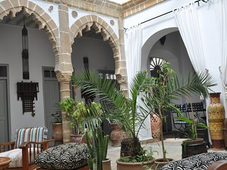 Riad consulate Essaouira, medina Skala, sea view