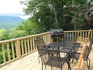 Woodshed, 2 Bedrooms, Mountain View, Jetted Tub, Pool Access, Sleeps 5, Gatlinburg