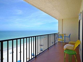Las Brisas 501  WOW!  Amazing Mid-Century Modern Gulf Front 3 Bedroom Condo!, Madeira Beach
