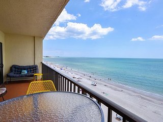 Las Brisas 503  Upgraded, Beautiful Top Floor Gulf Front 3 Bedroom Condo!, Madeira Beach