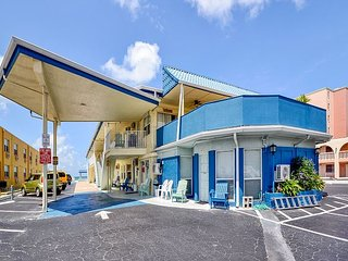 Sea Rocket #2- Upgraded and Updated, Ground Floor Condo Right on the Beach!, North Redington Beach
