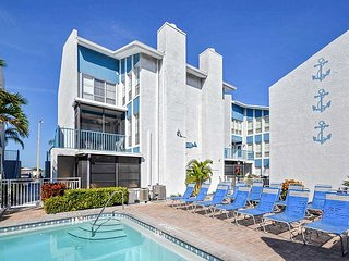 Madeira Beach Yacht Club 337G -  Spacious Two-Story Townhouse with Pool View!
