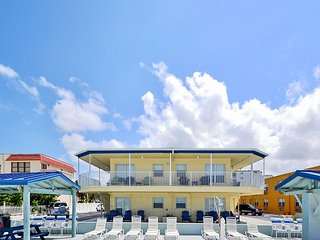 Sea Rocket #10 -  Beach Front Building, Ground Floor Condo with Gulf View!, North Redington Beach