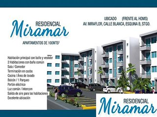 Apartament Near Homs Hospital and Airport Cibao, Santiago de los Caballeros