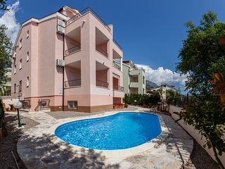TH03452 Apartments Bojka/ One Bedroom Apartment A2, Baska Voda
