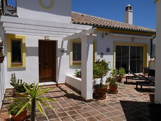 180M2 Andalusian style,2 big terrases with seaview, Mijas