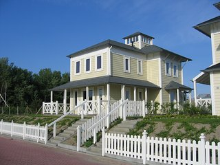 Modern Design Villa for 6p next to yachting club, Hellevoetsluis