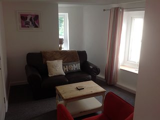 One bedroom, first floor apartment. St. Teath., Saint Teath
