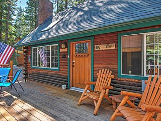 'Smokey's New Den' 3BR South Lake Tahoe Log Cabin