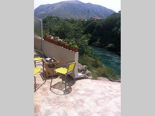 Centrally located overlooking Neretva