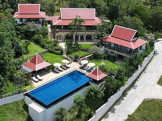 Bophut 5174 - Spacious With Large Pool And Chef, Mae Nam
