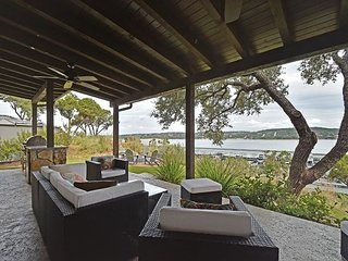 Lake Views From an Impeccable Patio at the Reserve at Lake Travis, Spicewood