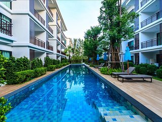 1 bedroom apartment on Rawai Beach, pool, gym & sauna