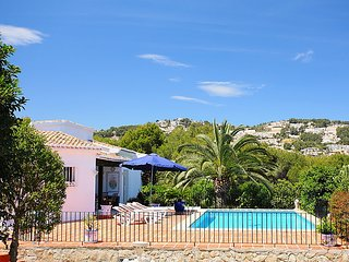 5 bedroom Villa in Moraira, Costa Blanca, Spain : ref 2011346
