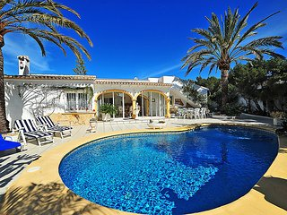 3 bedroom Villa in Moraira, Valencia, Spain : ref 5698449