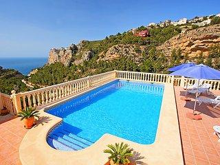 5 bedroom Villa in Moraira, Valencia, Spain : ref 5057754