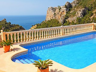 5 bedroom Villa in Moraira, Costa Blanca, Spain : ref 2098860