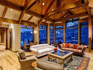 Alpine 4-acre Estate, Snowmass Village