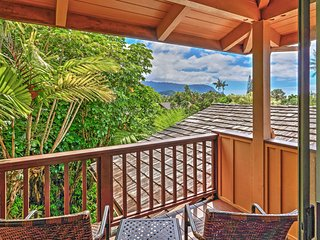 Exceptional 4BR Princeville Home w/Beautiful Mountain & Waterfall Views